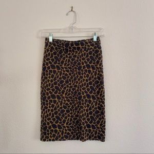 Stretchy Madewell Pencil Skirt